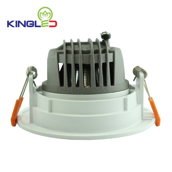 Đèn led spotlight 10w COB tròn Kingled DLR-10-T115