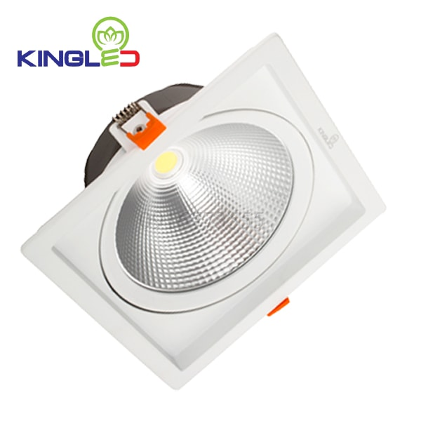 Đèn led spotlight 10w COB vuông Kingled DLR-10-V115