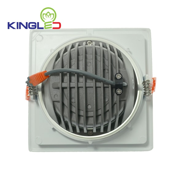 Đèn led spotlight 30w COB vuông Kingled DLR-30-V180