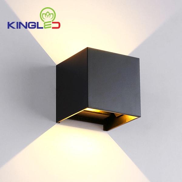 Đèn led gắn tường trong nhà 5w Kingled LWA5011-BK