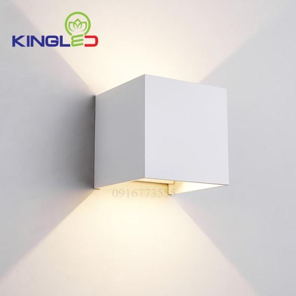 Đèn led gắn tường trong nhà 5w Kingled LWA5011-WH