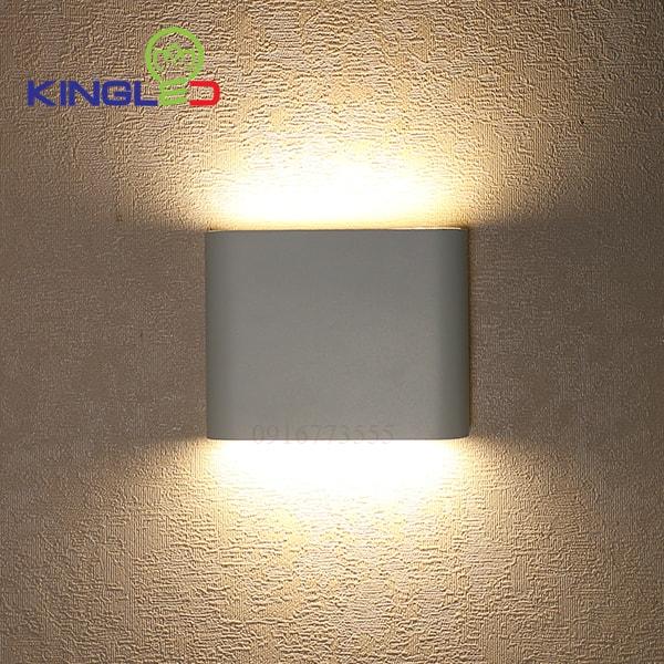 Đèn led gắn tường ngoài trời 8w Kingled LWA8011-S