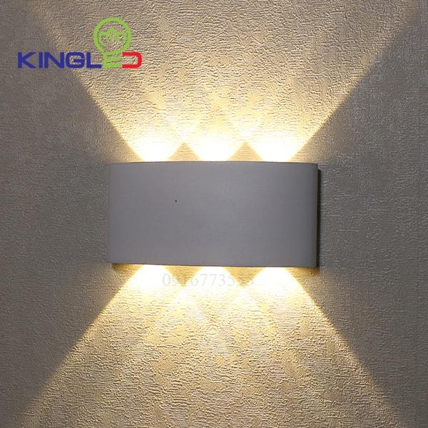 Đèn led gắn tường ngoài trời 6w Kingled LWA8031