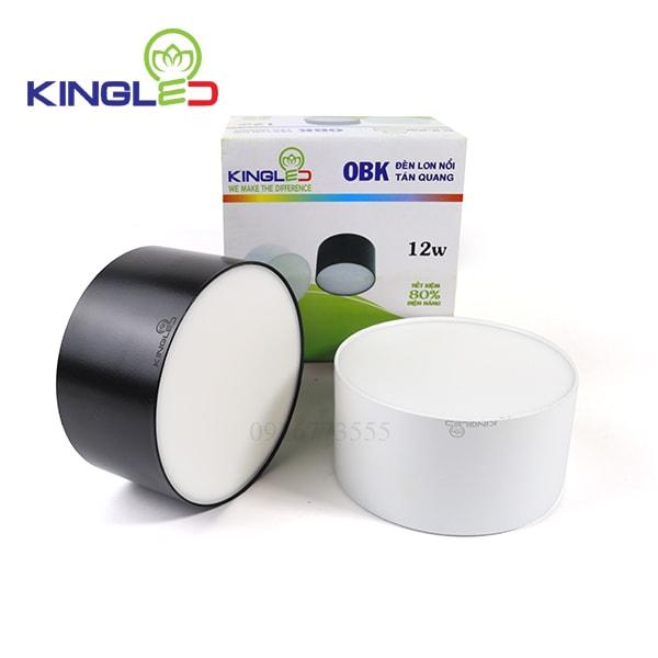 Đèn led ống bơ tán quang Kingked