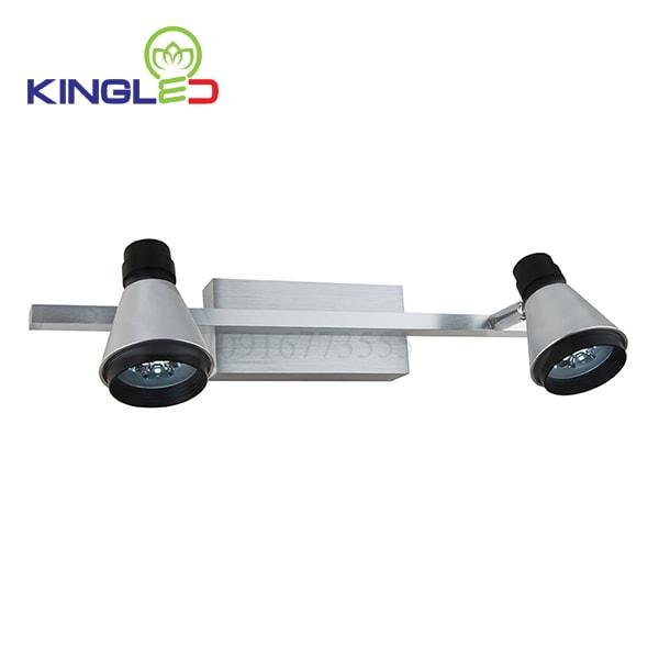 Đèn led rọi tranh 2*3w Kingled LT2005-2BK
